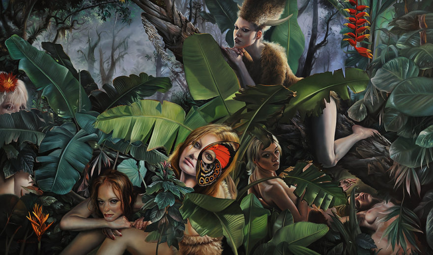 Button of Animal Instinct from David M. Bowers