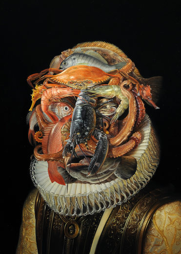 David M. Bowers painting of Kingfish