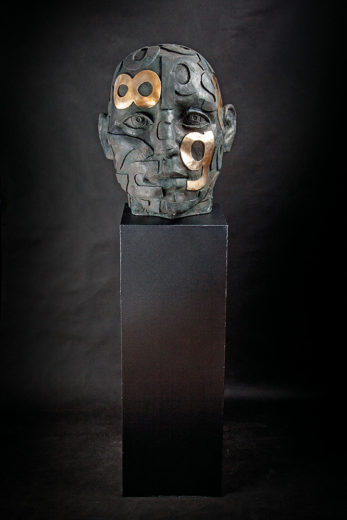 Button of Head. A sculpture from Marek Zyga