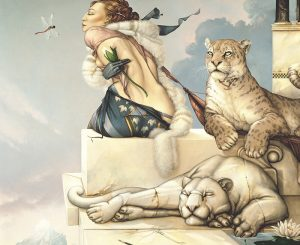 Work of Michael Parkes - Deva