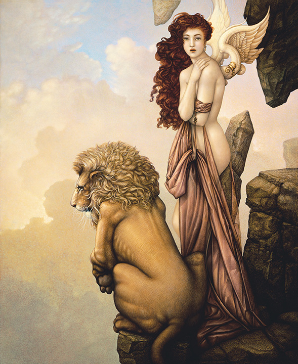 Work of Michael Parkes - The Last Lion
