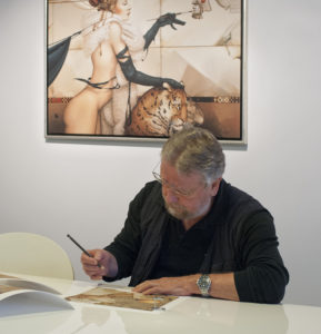 Michael Parkes Signing at Re-Art,Fine Art Printing