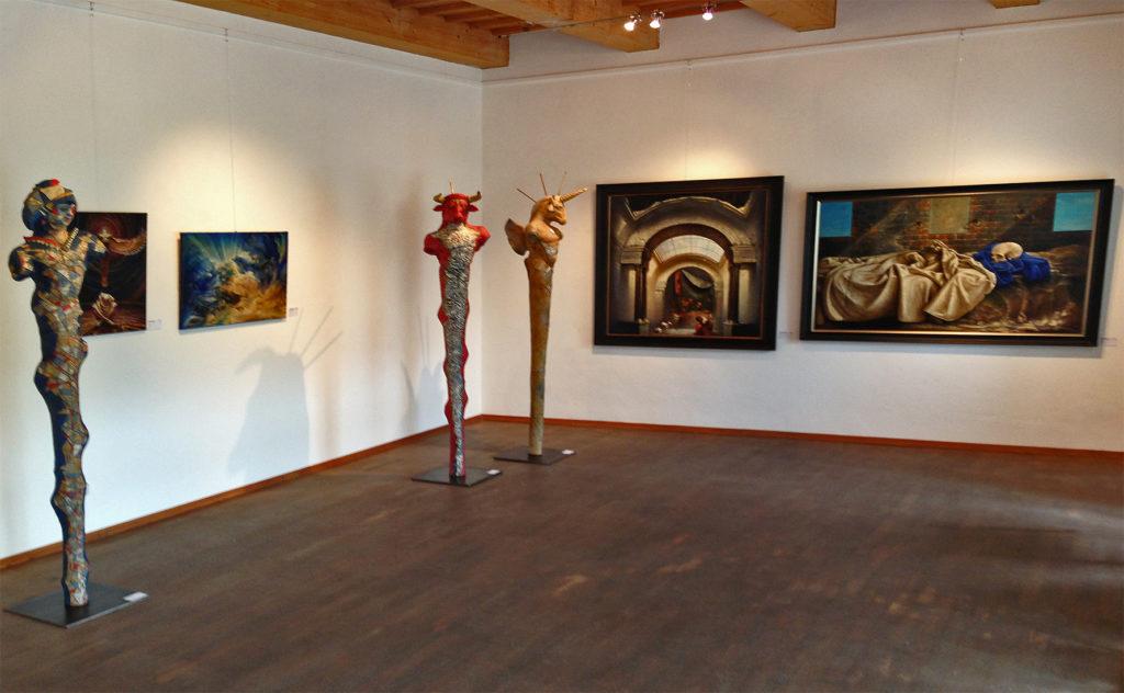 Dreamscapes Exhibition 2013 Corner room