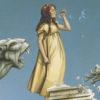 Michael Parkes giclee Gargoyles, zoom view