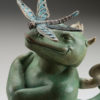 "Dragon Dragon ""Green"" a sculpture of Michael Parkes (Close up)"