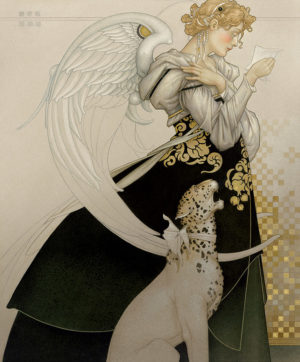 Giclee of Michael Parkes - Letter Study