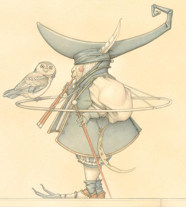 Giclee of Michael Parkes, Claire de Lune