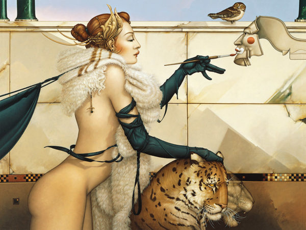 Michael Parkes - The Creation, canvas giclee