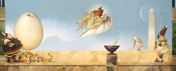 Michael Parkes - Eternity, canvas giclee