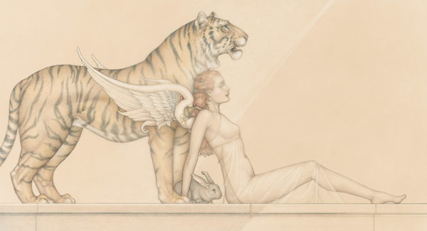Giclee of Michael Parkes, Hope