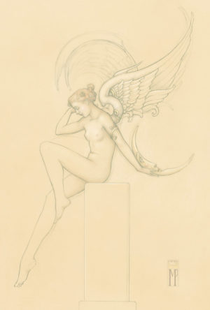 Giclee of Michael Parkes, Moonstruck