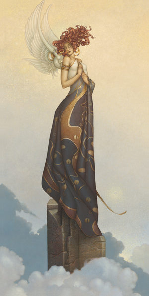 Michael Parkes - Morning Light, canvas giclee