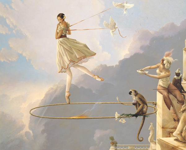 Michael Parkes - Tuesday Child, canvas giclee