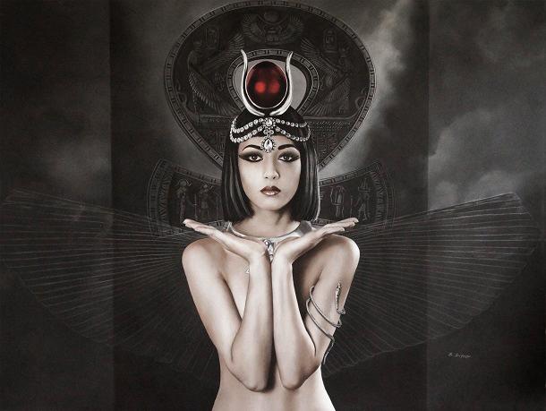 Brita Seifert Isis, artwork