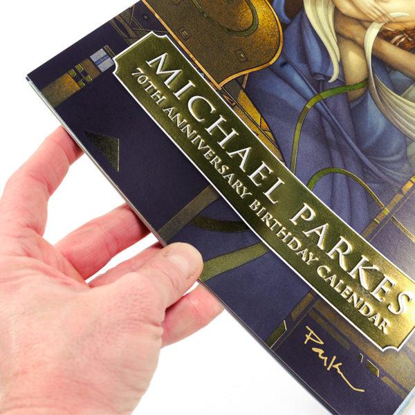 Michael Parkes Calendar of his 70th Anniversary, detail