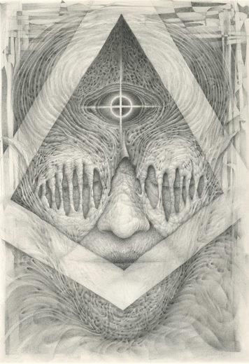 An artwork from Marcel Bakker, called Closure