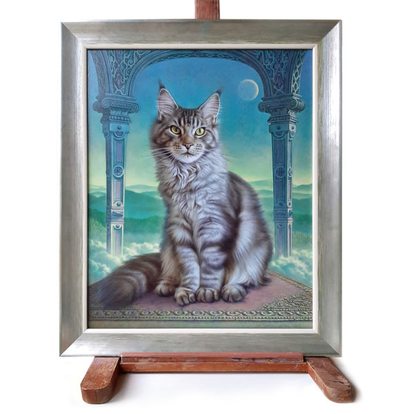 A painting of Herman Smorenburg, called Dreamcat
