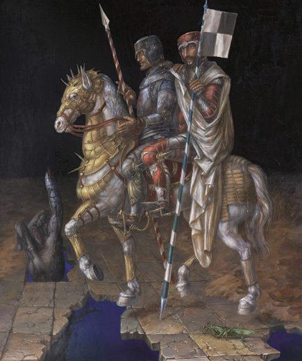An artwork of A. Müller-Jontschewa, called Etre