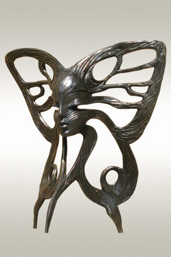A bronze sculpture of Igor Grechanyk, called New Inner Vision