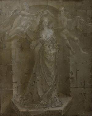 An artwork of Hans-Peter Müller, called La Madeleine