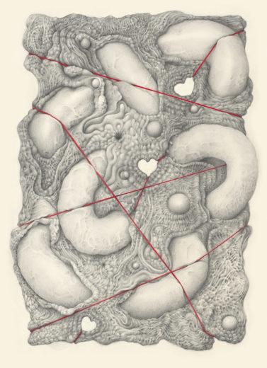 An artwork from Marcel Bakker, called No Title