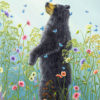 An artwork from Robert Bissell, called Presence (black)