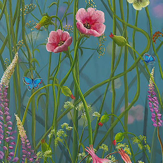 Detail Photo of Presence Painting by Robert Bissell