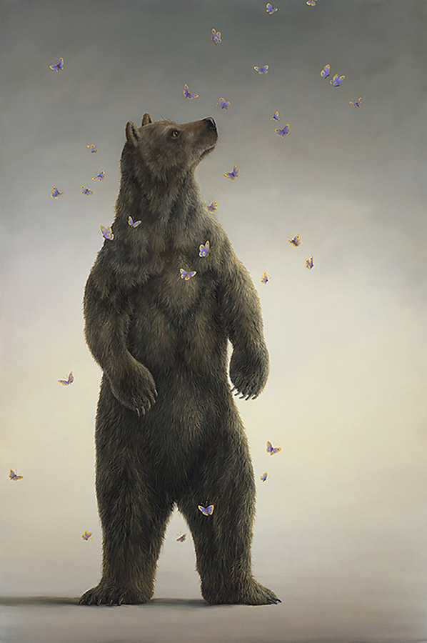 An artwork from Robert Bissell, called Hero (Ursus ll)