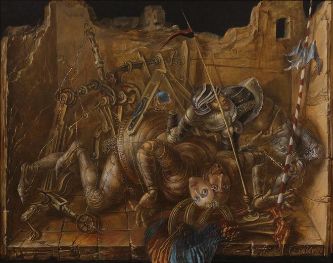 An artwork of A. Müller-Jontschewa, called Siesta