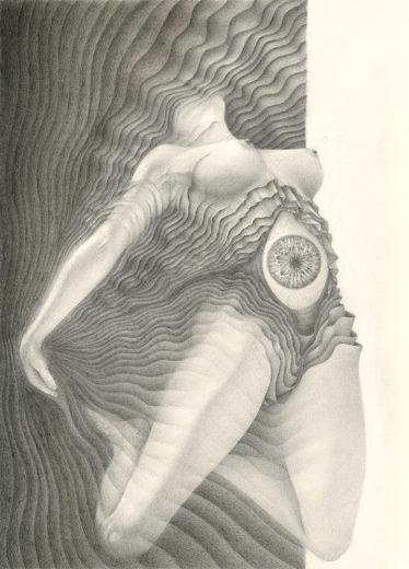 An artwork from Marcel Bakker, called Submergence