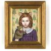 Wall photo of Shiori Matsumoto from painting Talkative Puppet
