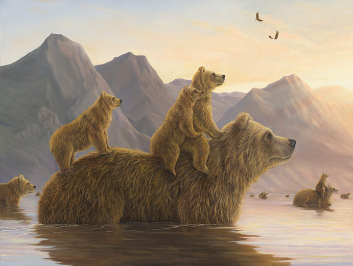 An artwork from Robert Bissell, called The Odysseys