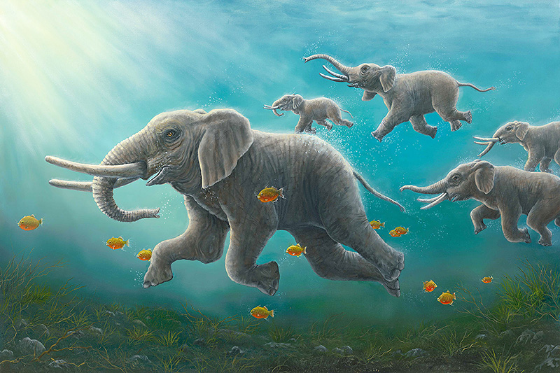 An artwork from Robert Bissell, called The Races