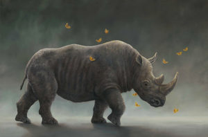 An artwork from Robert Bissell, called Titan Is