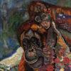 Apes an artwork of Jacqueline Nieuwendijkne Nieuwendijk