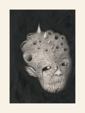A Limited Edition paper print of Marcel Bakker - Dark Face of the Moon