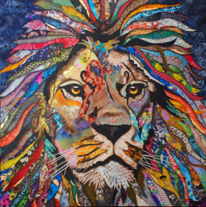 King an artwork of Jacqueline Nieuwendijk