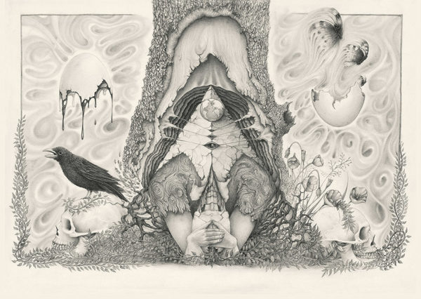 A Limited Edition paper print of Marcel Bakker - Mother Nature is Having a Headache