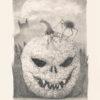 A Limited Edition paper print of Marcel Bakker - Pumpkin Terror