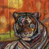Tiger an artwork of Jacqueline Nieuwendijkieuwendijk