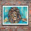 Lion by Jacqueline Nieuwendijk - Limited Edition Print