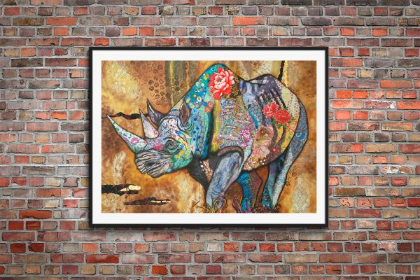 Rhino - Limited Edition Print