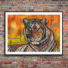 """Limited Edition """"Tiger"""" on paper"""