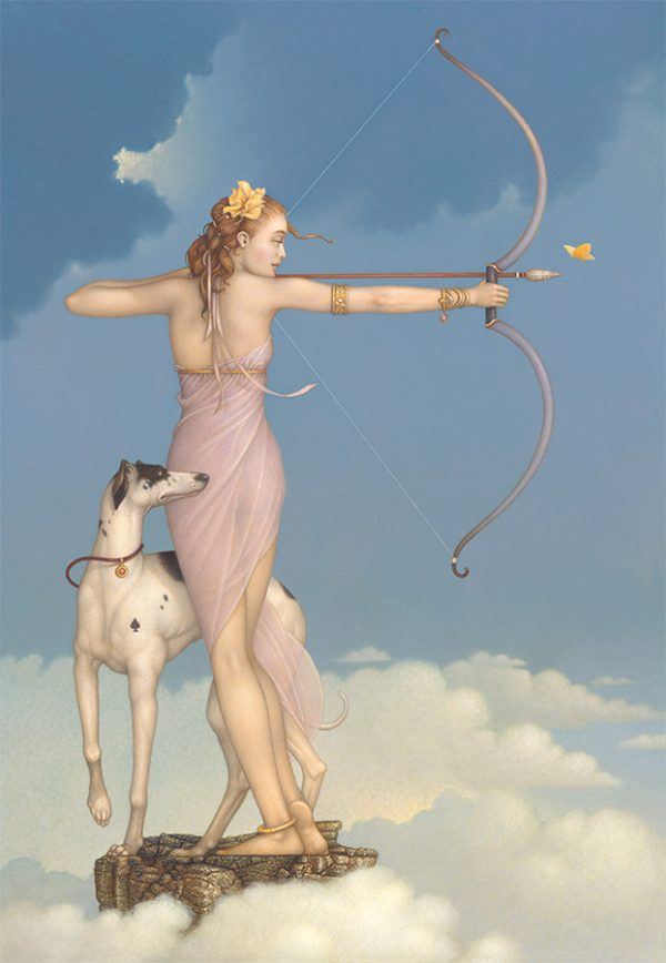 Canvas Giclee of Michael Parkes Butterfly Effect