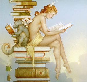 Giclee of Michael Parkes, Magic Spring