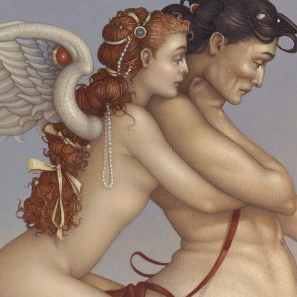 Detail of Michael Parkes Giclee The Centaur