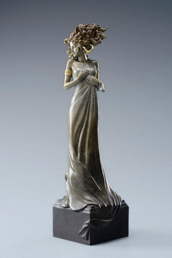 A sculpture of Michael Parkes called Morning Light