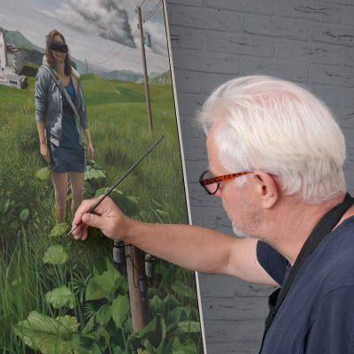 Artist Peter van Oostzanen picture