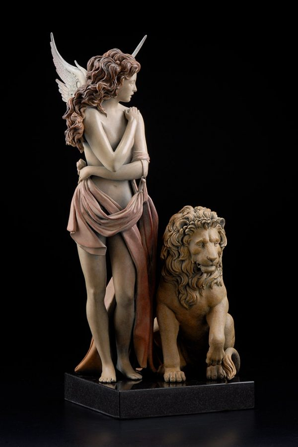 A sculpture of Michael Parkes called The Last Lion (Front)