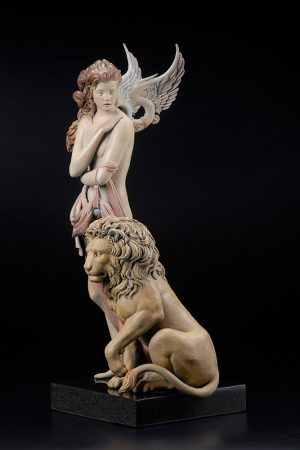 A sculpture of Michael Parkes called The Last Lion (Right)